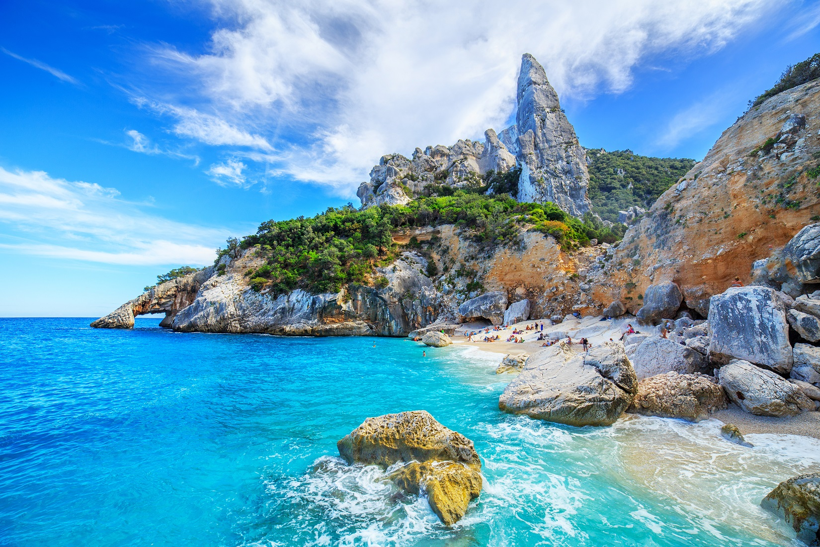 Cala Goloritze, Italia